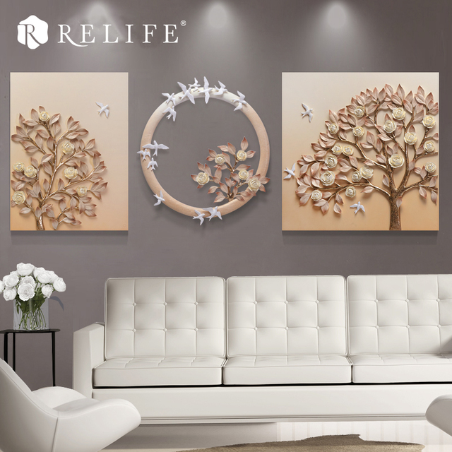 Modular Landscape Acrylic Wall Paintings for Living Room Home Decoration Art Pictures