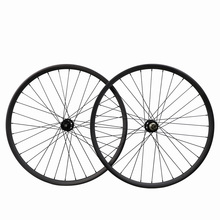 29ER 25C carbon  wheels MTB carbon wheel set 28/28H carbon wheels CN rounded spoke clincher carbon bike road carbon wheel set ultralight 1240g boost fs29t 28 22 dt240 center lock ultralight mtb carbon bike clincher wheels mountain bike boost wheels 29er