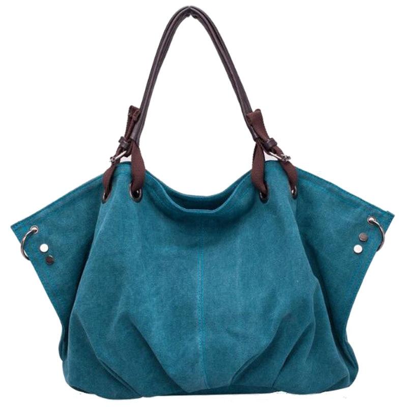 Canvas Leisure Shoulder Messenger Cloth Bags