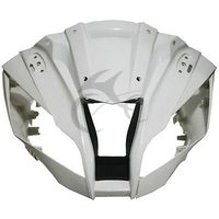 Unpainted Upper Front Fairing Cowling Nose For KAWASAKI ZX10 R ZX 10R 2011 2017