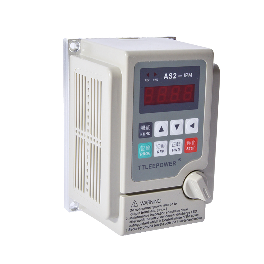 New Arrival 220v 0.75kw/750W AS2-107 or AS2-IPM  Inverter Drive 380v Motor Speed Controller Used for 3-phase 220V or 380V Motor new japan ipm inverter module pm200csd060 special cash szhsx