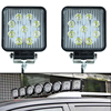 2pcs 4 Inch 27W LED Work Light For Bar Indicators Motorcycle Driving Offroad Boat Car Tractor