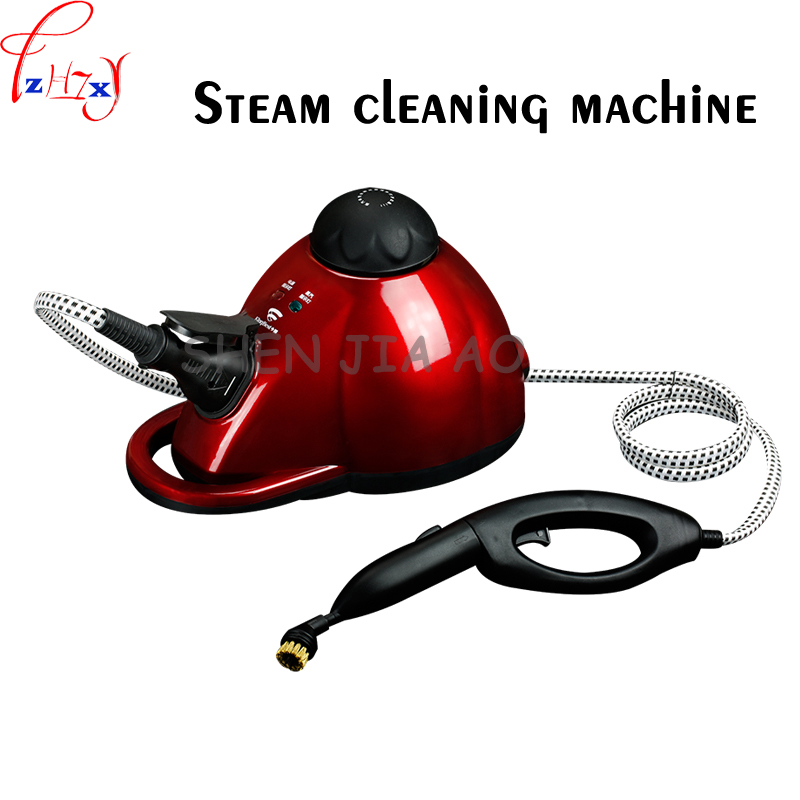 1pc 1800W 1000mL high temperature and high pressure steam cleaning machine sterilization anti-mite removal of the steam engine 1pc 220v household handheld multifunctional high temperature sterilization removal steam cleaning machine powerful steam engine
