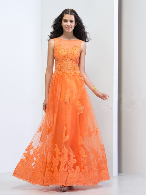 Online Buy Wholesale orange evening gowns from China orange ...