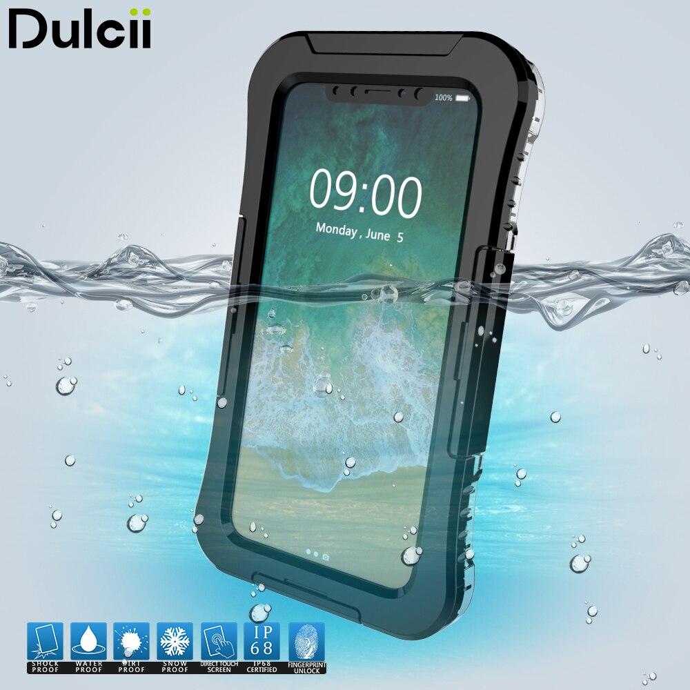Aliexpress.com : Buy DULCII for iPhone X Cover IP68 Underwater 10M Waterproof Cases Dirt/Dust