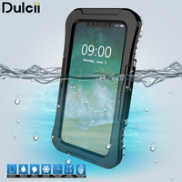 DULCII For IPhone X Cover IP68 Underwater 10M Waterproof Cases Dirt Dust Snow Proof Case For