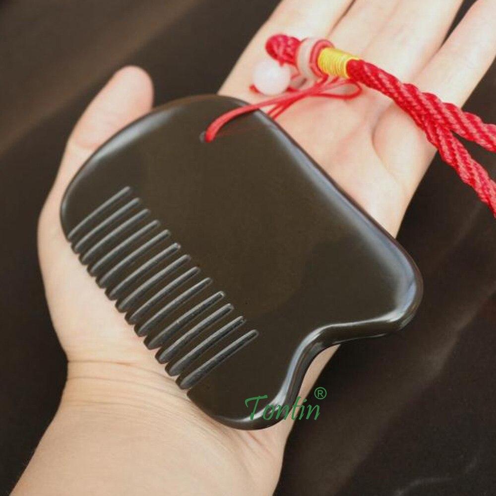 5A grade Original Si Bin brown color Bian stone massage guasha square comb 100x62x8mm 100% original gift bag & chart