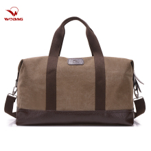 Новая модная Повседневная Большая вместительная Мужская спортивная сумка для фитнеса, уличная дорожная сумка, Женская Холщовая Сумка, хаки/черный