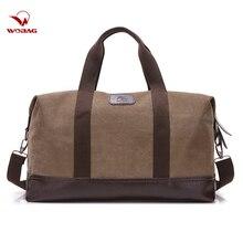 Bolsos de lona Vintage para hombre, bolsas de equipaje de mano de viaje, bolsas de fin de semana para la noche, bolsa de almacenamiento para exteriores, bolsa de lona de gran capacidad