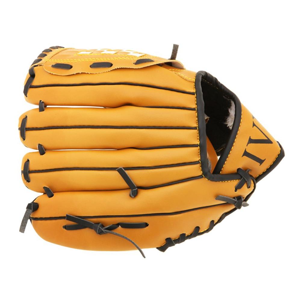 Sporthandschuhe Baseball Handschuh Für Krug Weiche Art Für Werfen Rechts Braun 12,5 Zoll