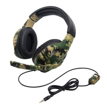 Gaming Headset Camouflage For Ps4 Pc Xbox One With Microphone Laptop Phone