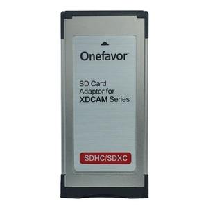 Image 2 - Fabrik Preis!!! 2 stücke Express Card Expresscard kartenleser Adapter Utral high speed 34mm unterstützt SD SDHX SDXC speicher karte