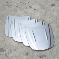 30 26cm Metal Car Speed Shape Mini Car Bonnet Mini Hood Custom Paint Sample Model For