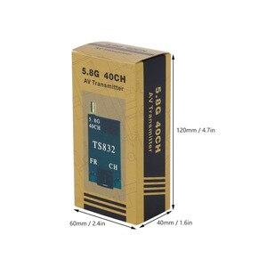 Image 3 - 5.8G 48CH TS832 AV Verici ve RC832 Alıcı Kablosuz Ses/Video Görüntü Iletim Alıcı Sistemi FPV Drone quapcopter