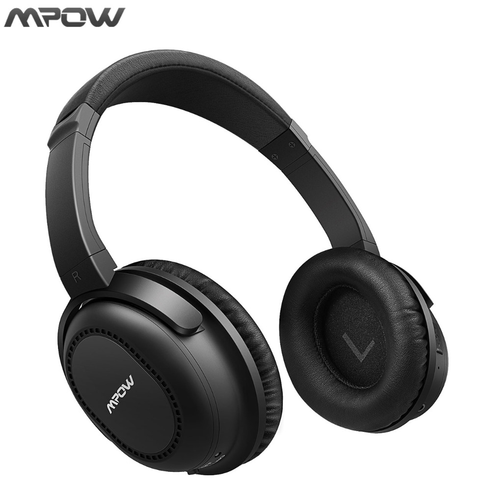ANC Mpow Bluetooth Headphones Wireless For iPhone 8 7 6s iPod Android pad TV PC Active Noise Canceling Headset Headphone Earphon remax s2 bluetooth headset v4 1 magnet sports headset wireless headphones for iphone 6 6s 7 for samsung pk morul u5