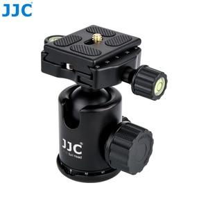 Image 4 - JJC Profesyonel Kamera tutucu mini Tripod DSLR Esnek Standı Topu Kafa için Taşınabilir Monopod Canon/Nikon/Sony/ fujifilm/Olympus