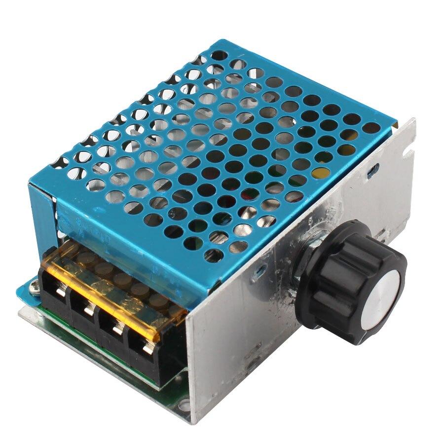 4000W 220V AC SCR Voltage Regulator Dimmer Electric Motor Speed Controller Electronic Regulator Dimmer 220V Thermostat Regulator