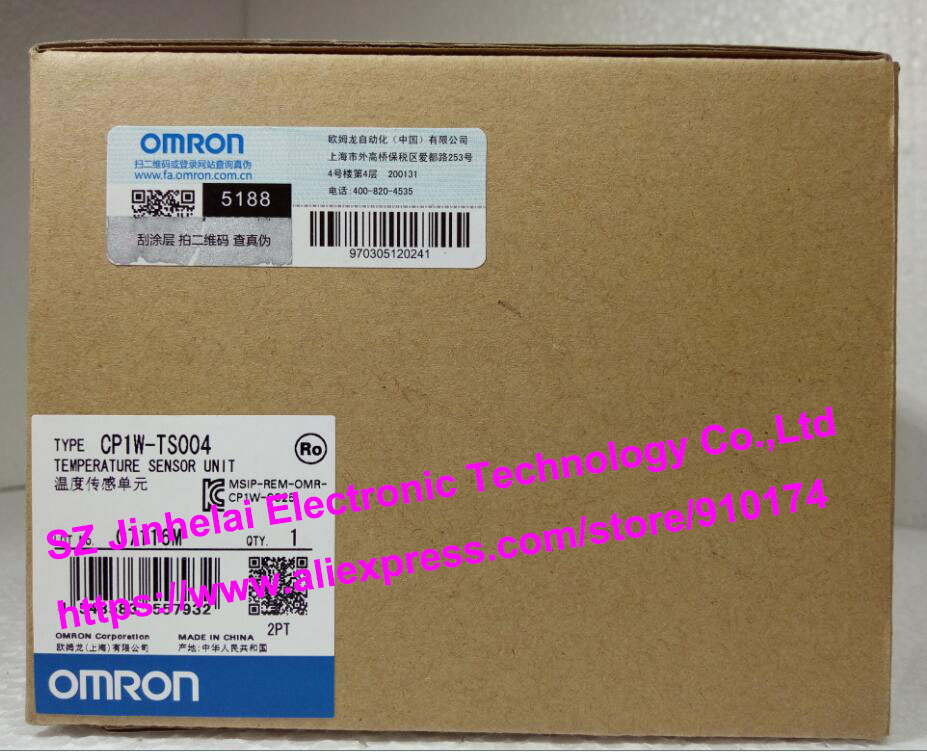 Новое и оригинальное cp1w ts004 omron plc Температура блок датчика