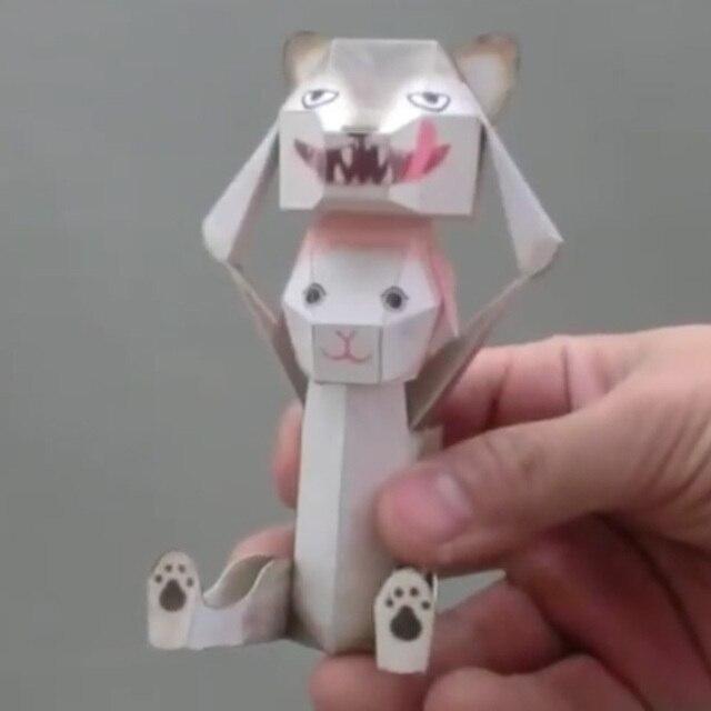 DIY Scrapbook Decoration Paper DHaruki Nakamura Toys Rabbit Pikachu Origami Kirigami Pliage Decouvrez