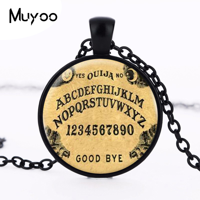 Ouija Board Logo Pendant Necklace Hot Sale Handmade Vintage Chain Choker Statement Necklace 2016 Fine Art Necklace Jewelry HZ1