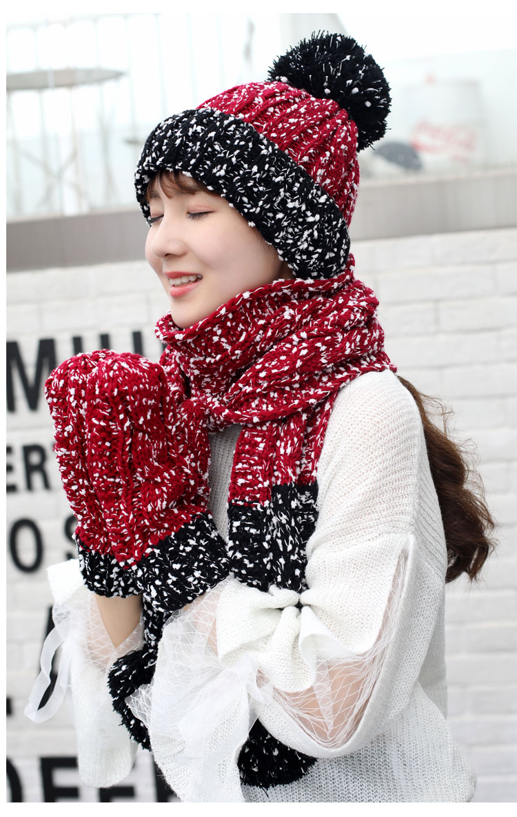 at and scarf set hat and scarf women\`s knitted hat and scarf for women Hat & Glove Sets hat and scarf set winter hat and scarf sets (8)