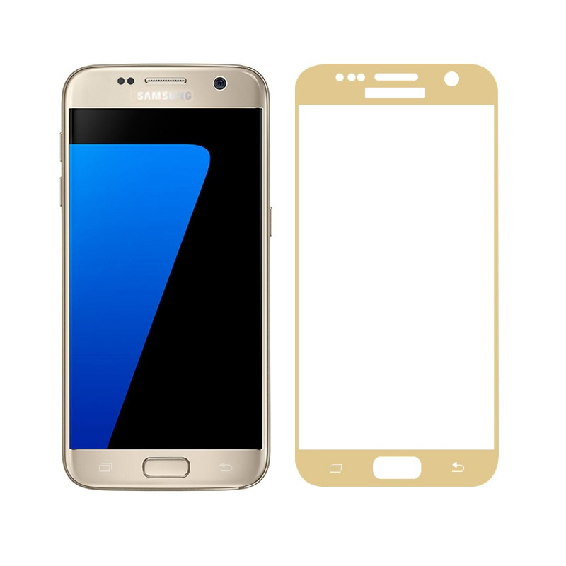 <font><b>FEMA</b></font> Film for Samsung S 7 3D <font><b>Curved</b></font> <font><b>Tempered</b></font> <font><b>Glass</b></font> <font><b>Screen</b></font> Guard Film for Samsung Galaxy S7 G930 Silk Print <font><b>Full</b></font> <font><b>Size</b></font>