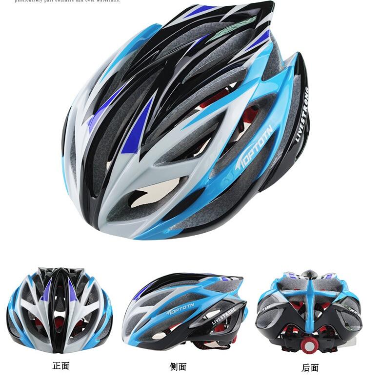 Nova TOPTETN kolesarska kolesarska moška ženska čelada EPS - Kolesarjenje - Fotografija 3