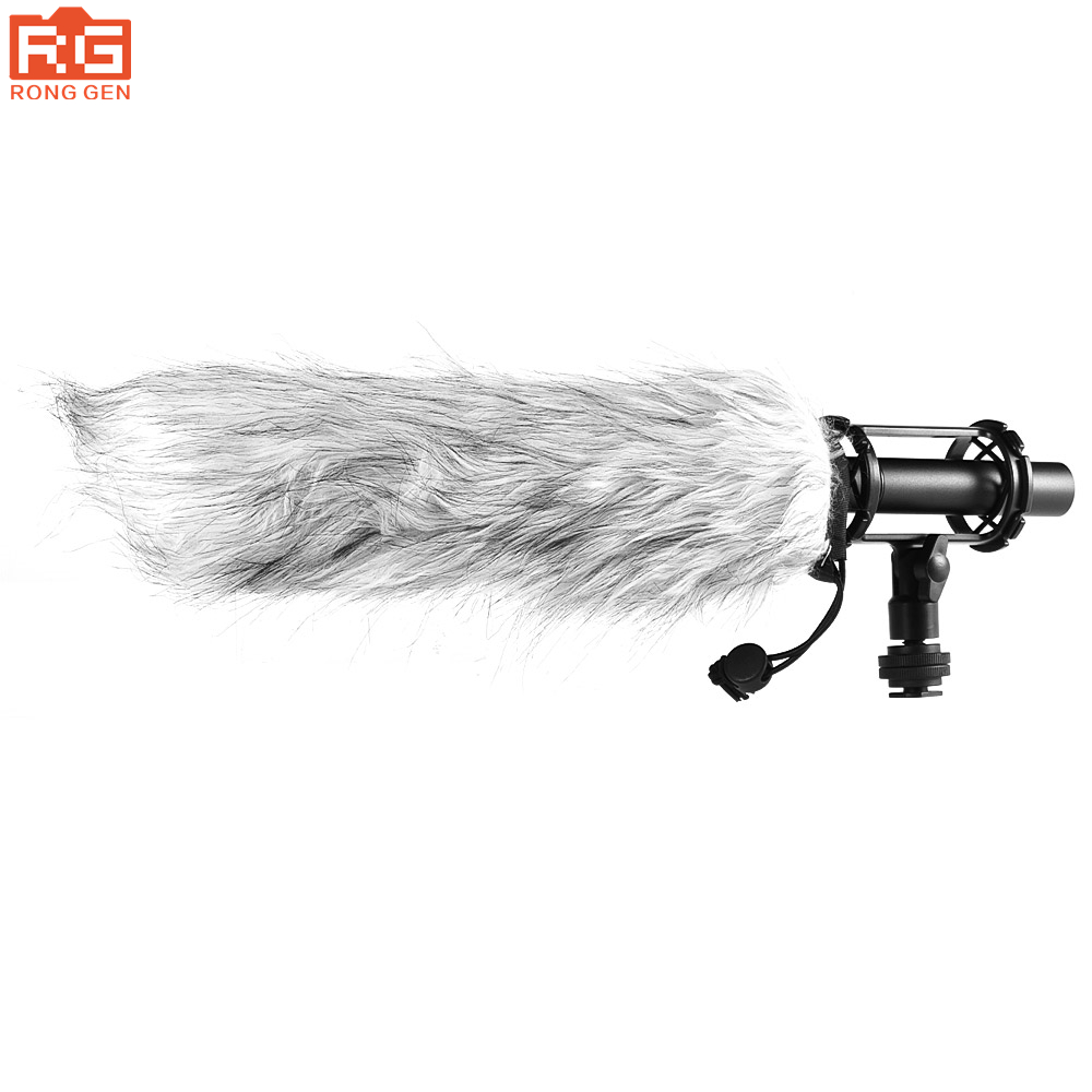 BY-PVM1000L Condenser Microphone XLR 3-Pin Super-Cardioid Directional for Camcorder DSLR Smartphone Video Interactive Film Video