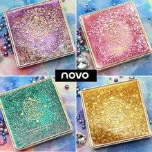 NOVO 12 Colors Flowing Sand Fantasy Makeup Eye Shadow Pallete Unique Design Eart