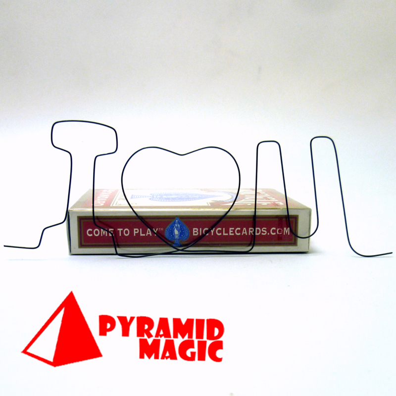 Nitinol SHAPE Metal Memory Wire Fire Prediction I Love You Magic Trick For Close Up Magic