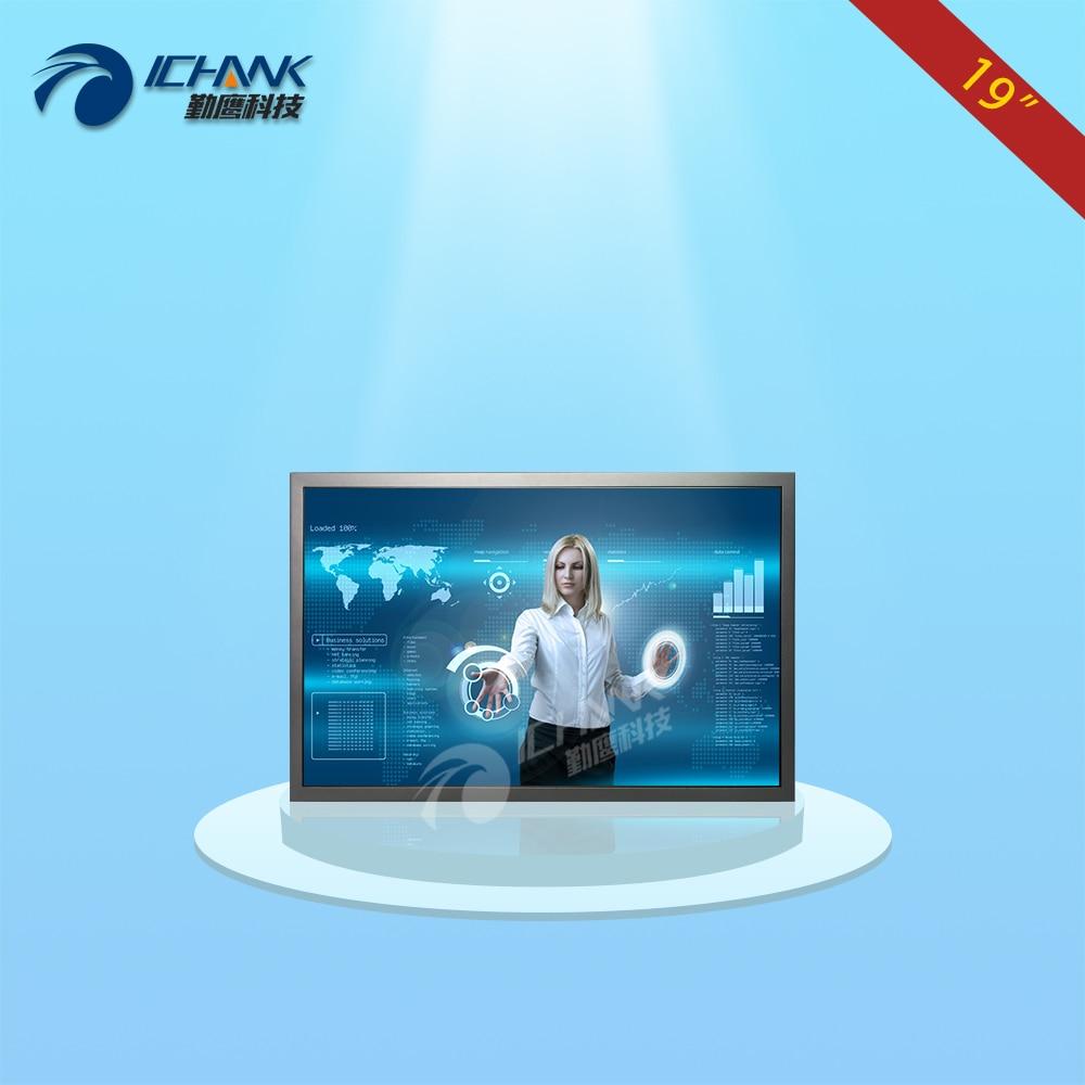 ZB190TC V592/19 inch 1440x900 16:10 Widescreen Metal Case HDMI VGA USB POS Machine Industrial Touch Monitor LCD Screen Display