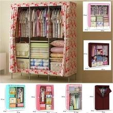 Free shipping wardrobe Simple folding closet High performance non-woven wardrobe prevent dust cloth wardrobe Receive ark