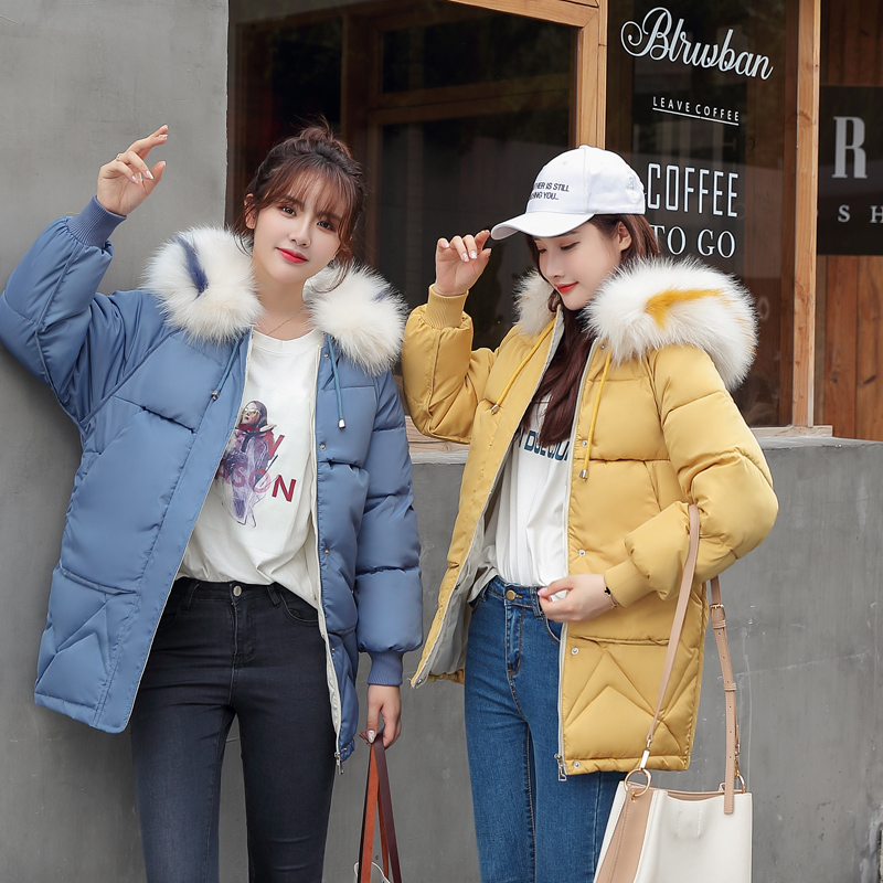 Brieuces 2019 New Short Winter Jacket Women Thickening Warm Outerwear Parkas Female Cotton Padded Loose Coats Hooded
