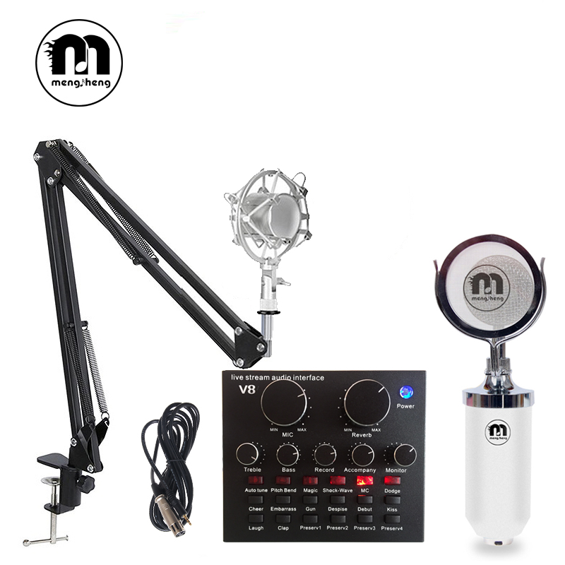 m16 studio condenser microphone for computer launchpad usb microphones professional bm800 multi. Black Bedroom Furniture Sets. Home Design Ideas