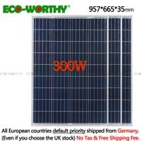 300 Вт комплект солнечной панели: 3x100 Вт поли солнечная панель Advanced RV солнечное зарядное устройство для 12 В батареи от сетки солнечной системы