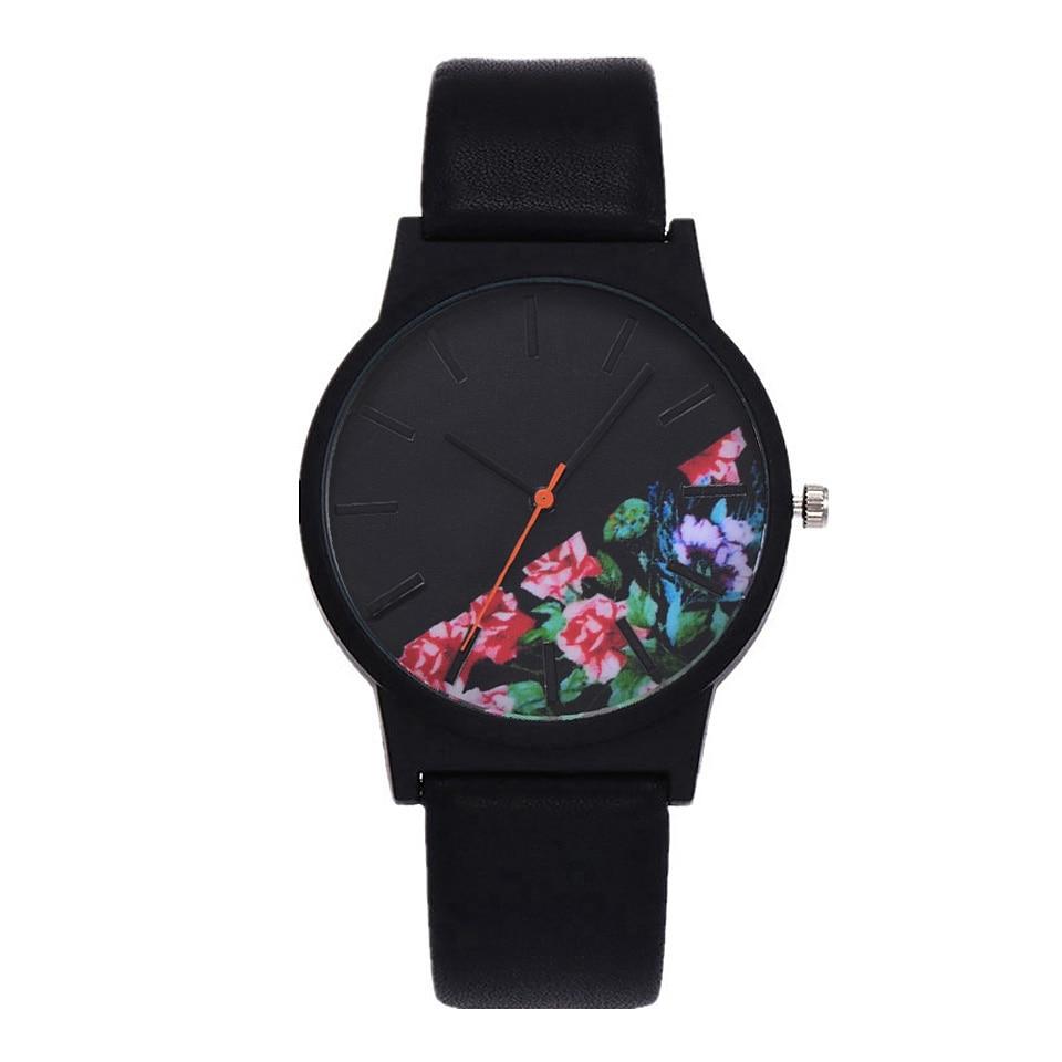 नई विंटेज चमड़ा महिला - महिलाओं की घड़ियों
