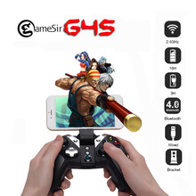 Original GameSir G4s 2.4 Ghz Wireless Gamepad Controller Bluetooth Universal para el CUADRO de TV Android Smartphone Tablet PC Juegos VR