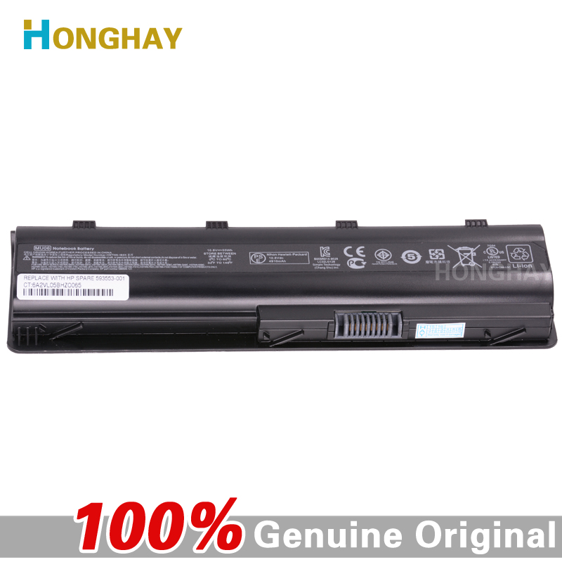 HONGHAY 55WH MU06 Laptop Battery for HP Pavilion G4 G6 G7 G32 G42 G56 G62 G72