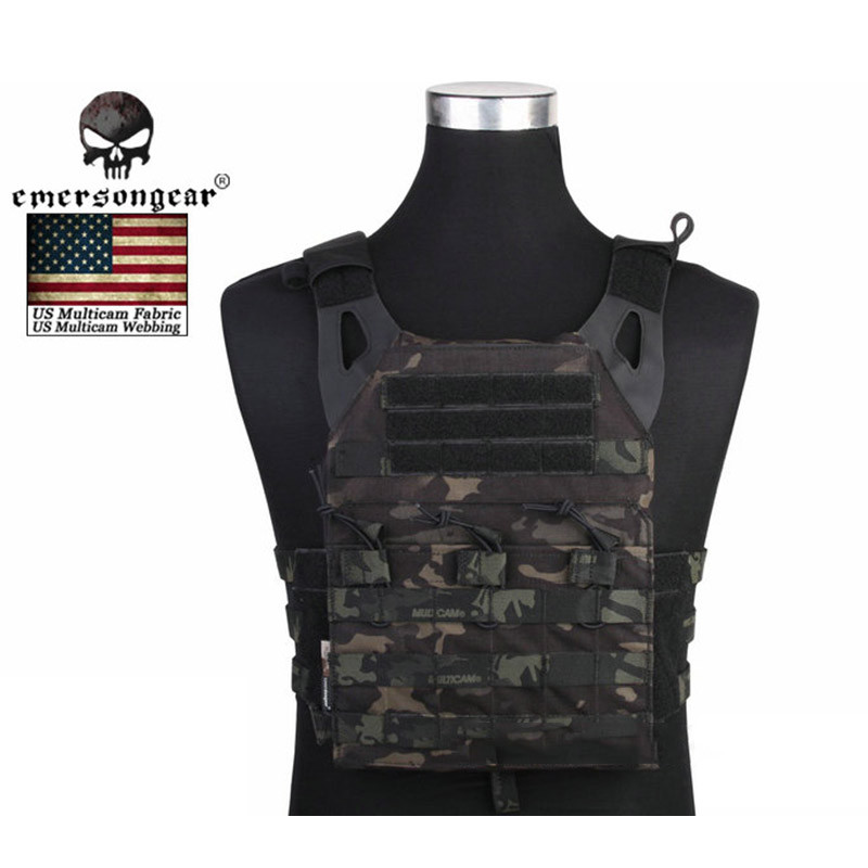 Emerson 1000D Nylon Molle Simplified Version JPC Tactical Vest Outdoor Airsoft Hunting US Army Military Equipment Body Armor emerson 1000d molle jpc airsoft tactical vest simplified version outdoor training paintball hunting vest plate carrier em7344