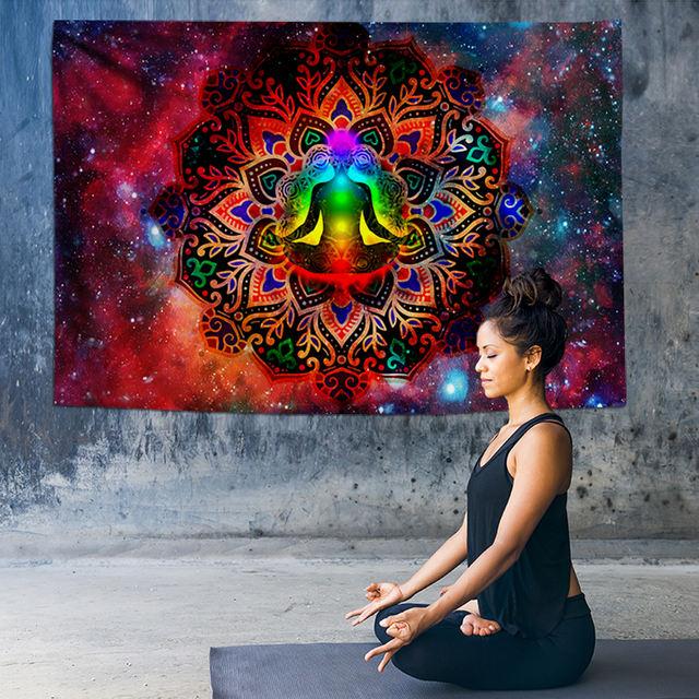 Indian Mandala Wall Tapestry