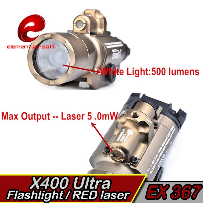 Element X400 Ultraljubičasta Taktička svjetla laser Picatinny - Lov - Foto 5