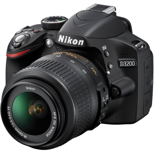 Nikon D30 DSLR Camera with 18-55mm Lens -24.2MP DX -Video (Brand New) 1