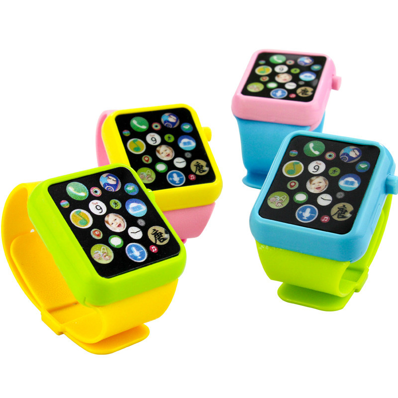 Machine Kids Children Smart Watch Early Education 3D Touch Screen Music Smart Watch Learning Machine ABS Wristwatch Toy