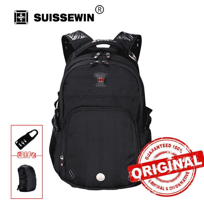 Mochilas Hot Sale Swiss Backpack Male Waterproof Men's Large Capacity Laptop Bagpack School Bag Teenager Boy Mochila Sw9017