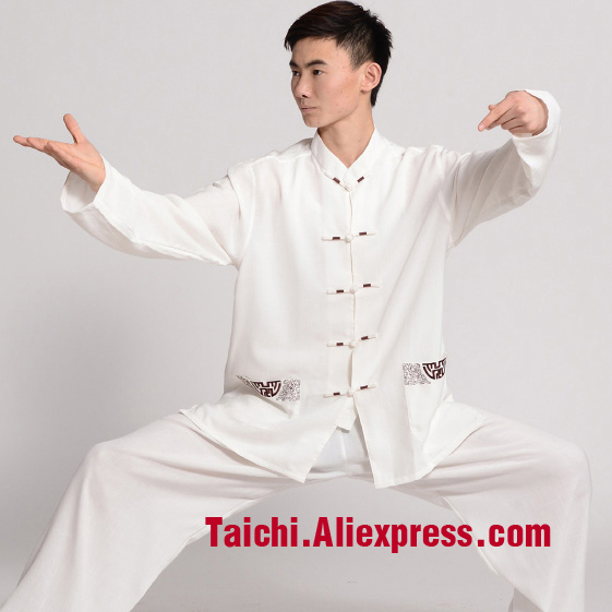 Handmade Linen Tai Chi Uniform Wushu, Kung Fu,martial art Suit, Chinese Stly  long slvees and short slvees,Several colors painted handmade linen tai chi uniform taijiquan female clothing summer short sleeved wushu kung fu jacket pants