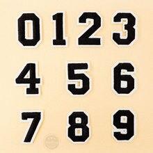 Número: 0 1 2 3 4 5 6 7 8 9 tamanho: adesivo bordado de roupas, aplique de costura, acessórios de roupa, 3.8x5cm