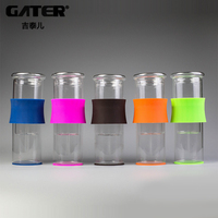 GATER Water Drip Coffee Machine New 200ml Reusable Filter Tools Glass Espresso Coffee Dripper Pot Ice Cold Brew Coffee Maker