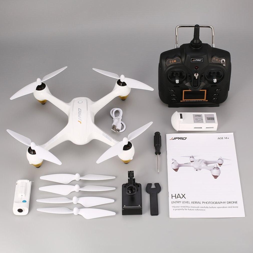 JJPRO X3 HAX RC Drone with 1080P HD Wifi Camera 2.4G Dual GP