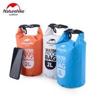 Naturehike 2L 5L водонепроницаемый плавательный мешок Кемпинг пляжные сумки ПВХ герметичные мешки для туризма рафтинг Сверхлегкая сумка для теле...