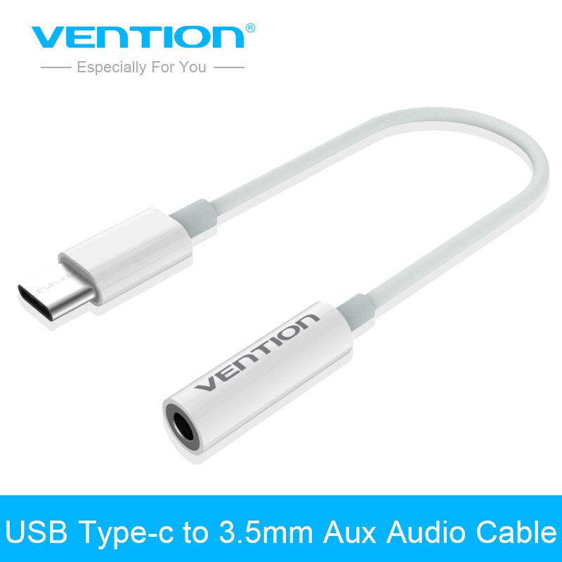 Vention USB Type C To 3.5mm Adapter Cable Headphone